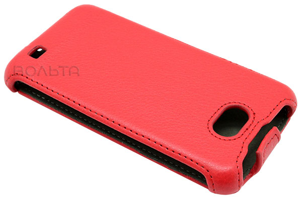 чехол iBox Premium Samsung i9103 Leather Case red