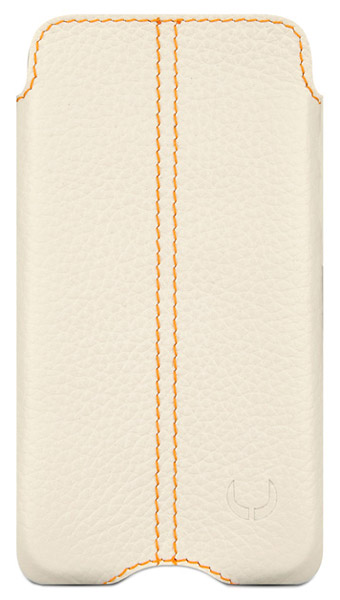 чехол Beyzacases Zero Series Leather Case iPhone 4 flo white