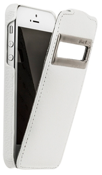 чехол Melkco iPhone 5 Jacka ID Type white LC