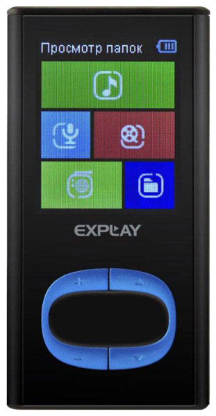MP3 - плеер Explay C45 8Gb black/blue