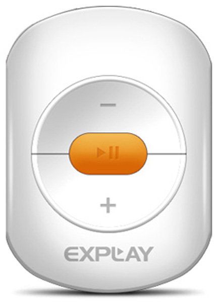 MP3 - плеер Explay A1 4Gb white/orange