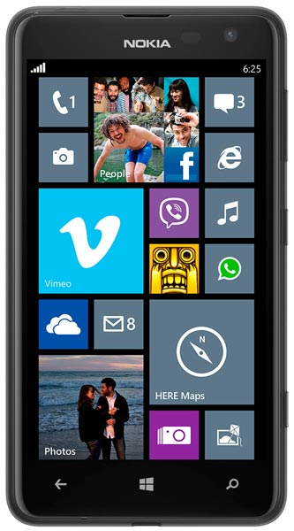 смартфон Nokia Lumia 625 black