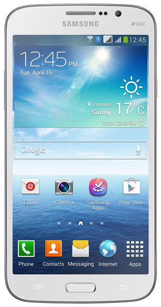 смартфон Samsung GT-i9152 Galaxy Mega 5.8 8Gb white