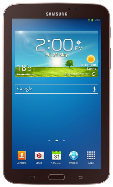 планшетный ПК Samsung SM-T210 (Galaxy Tab 3 7.0 SM-T2100 8Gb) gold brown