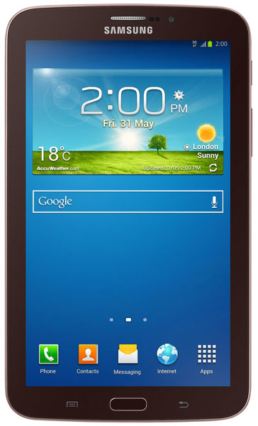 планшетный ПК Samsung SM-T211 (Galaxy Tab 3 7.0 SM-T2110 8Gb) gold brown