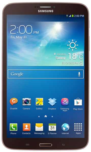 планшетный ПК Samsung SM-T311 (Galaxy Tab 3 8.0 SM-T3110 16Gb) gold brown