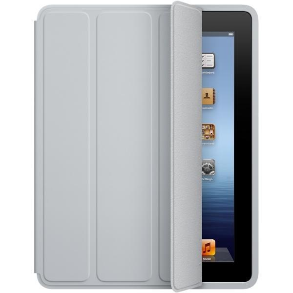 футляр Apple Smart Cover - Polyurethane grey