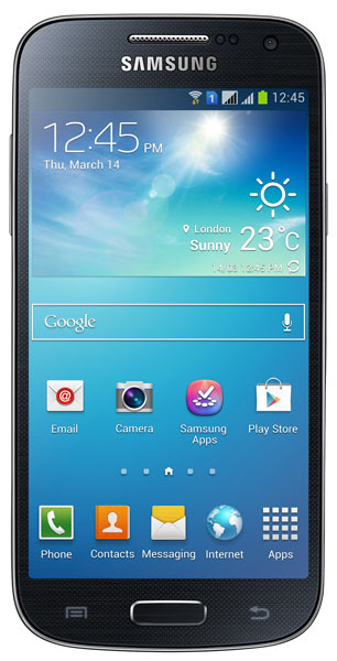 смартфон Samsung GT-i9192 Galaxy S4 mini Duos black