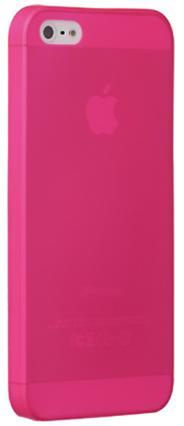 накладка Ozaki OC533 O!coat 0.3 JELLY iPhone 5/5S pink