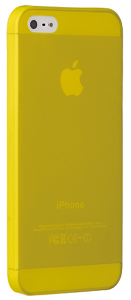 накладка Ozaki OC533 O!coat 0.3 JELLY iPhone 5/5S yellow