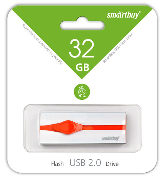 флешка USB SmartBuy Comet 32Gb white