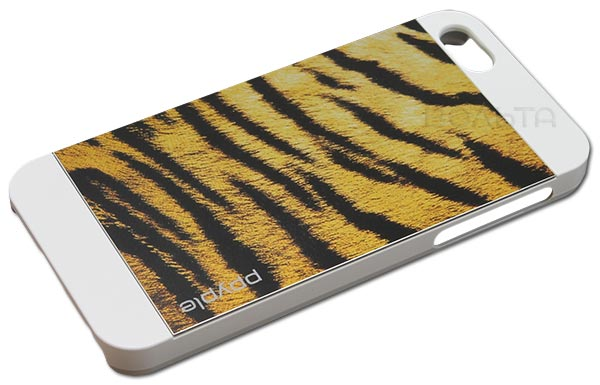 накладка Ppyple Metal Jacket IPhone 5/5S tiger white