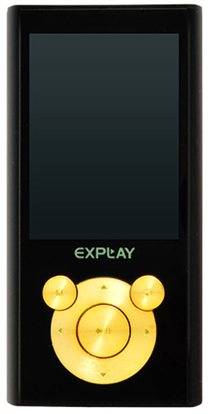 MP3 - плеер Explay M21 4Gb black/gold