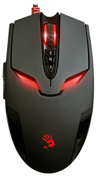мышь A4Tech Bloody V4 game mouse black