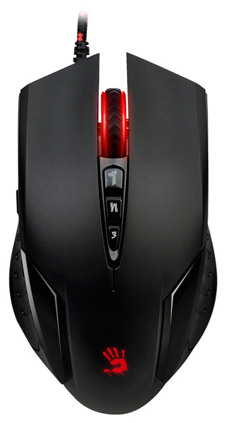 мышь A4Tech Bloody V5 game mouse black