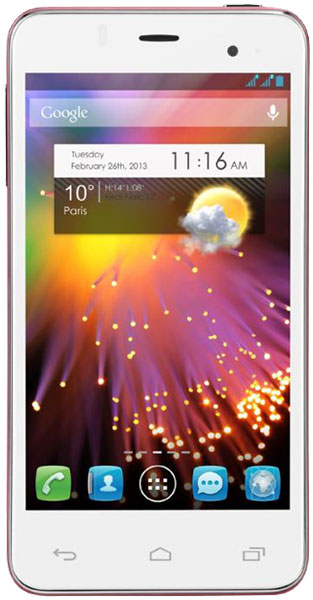 смартфон Alcatel One Touch Star Dual Sim 6010D cranberry pink