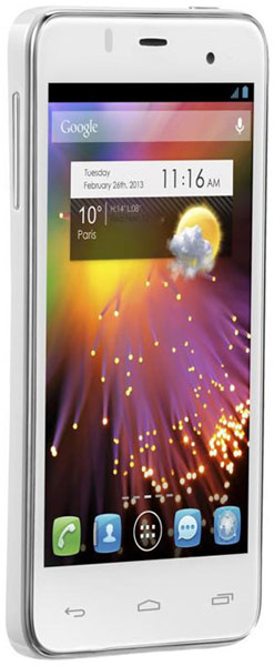 смартфон Alcatel One Touch Star Dual Sim 6010D white