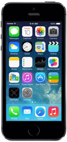смартфон Apple iPhone 5s 32Gb space grey