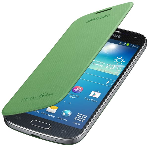 чехол Samsung FlipCover i9192 Galaxy S4 mini Duos yellow-green