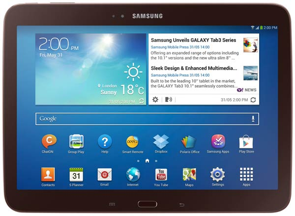 планшетный ПК Samsung GT-P5210 (Galaxy Tab 3 10.1 ) 16Gb gold brown