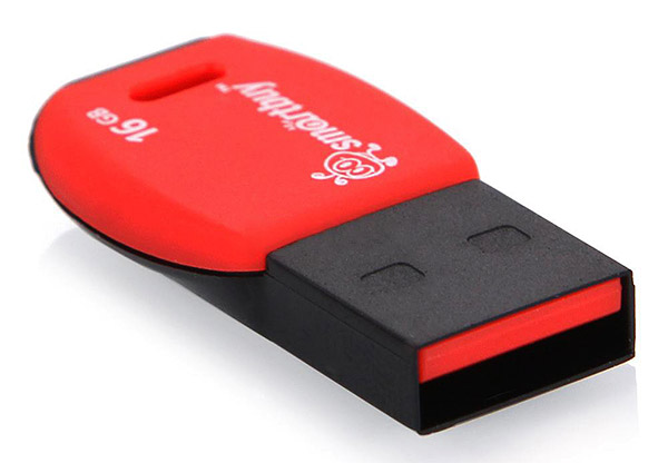 флешка USB SmartBuy Cobra 32Gb red