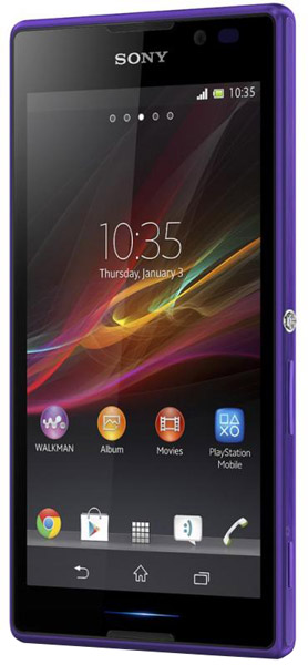 смартфон Sony C2305 Xperia C purple