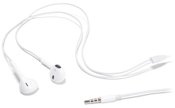 гарнитура стерео Apple EarPods MD827ZM/A white