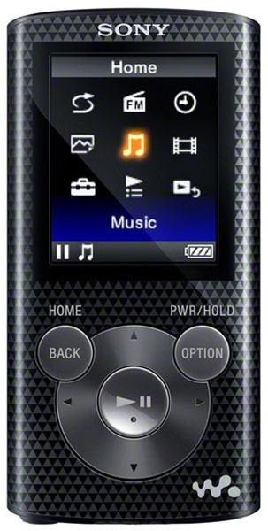 MP3 - плеер Sony NWZ-E383 4Gb black