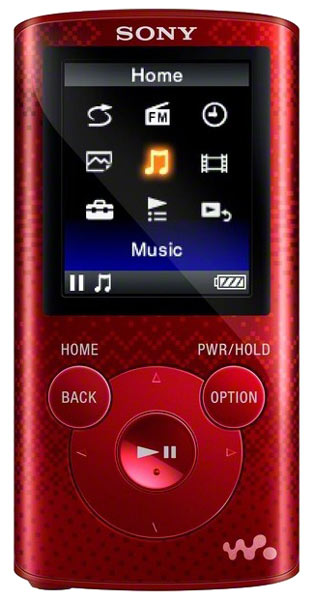 MP3 - плеер Sony NWZ-E383 4Gb red