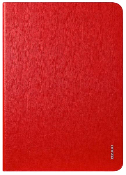 чехол Ozaki OC109 Adjustable multi-angle slim iPad Air red