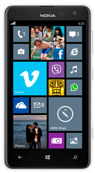 смартфон Nokia Lumia 625 3G white