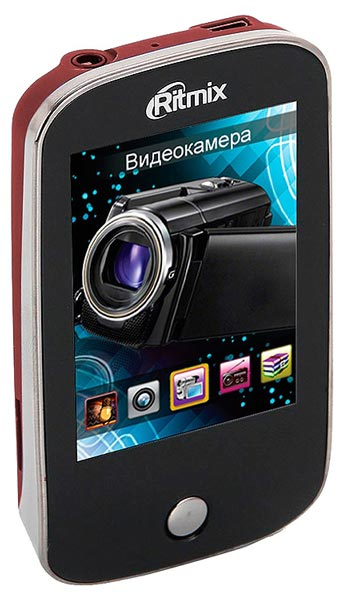 MP3 - плеер Ritmix RF-7200 4Gb dark red