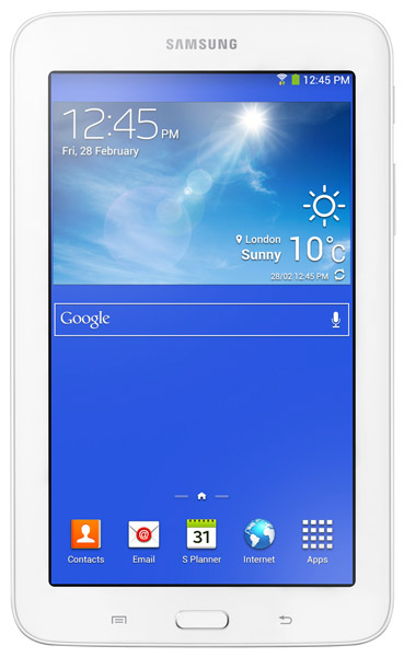 планшетный ПК Samsung SM-T110 Galaxy Tab 3 7.0 Lite 8Gb cream white