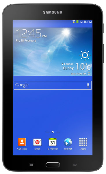 планшетный ПК Samsung SM-T110 Galaxy Tab 3 7.0 Lite 8Gb ebony black