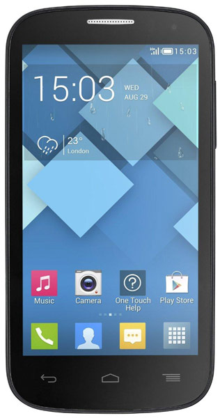смартфон Alcatel OT5036D POP C5 bluish black