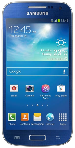 смартфон Samsung GT-i9190 Galaxy S4 mini blue