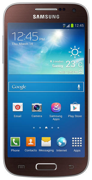 смартфон Samsung GT-i9190 Galaxy S4 mini brown