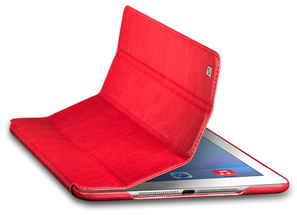 чехол Hoco iPad Air Crystal Leather Case red