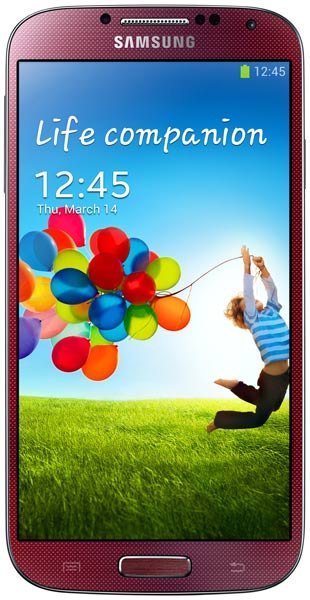 смартфон Samsung GT-i9500 Galaxy S4 16Gb red