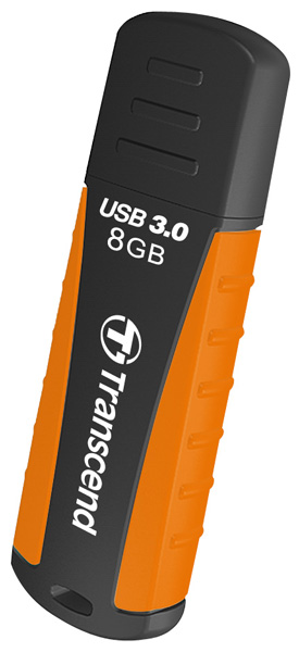 флешка USB Transcend TS8GJF810 8Gb black/orange