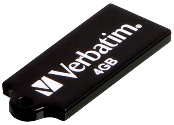 USB флешка Verbatim Micro 4Gb black