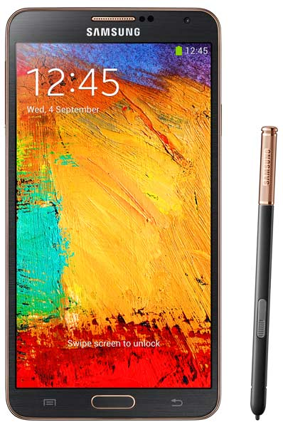 смартфон Samsung SM-N900 (Galaxy Note III 32Gb) black gold