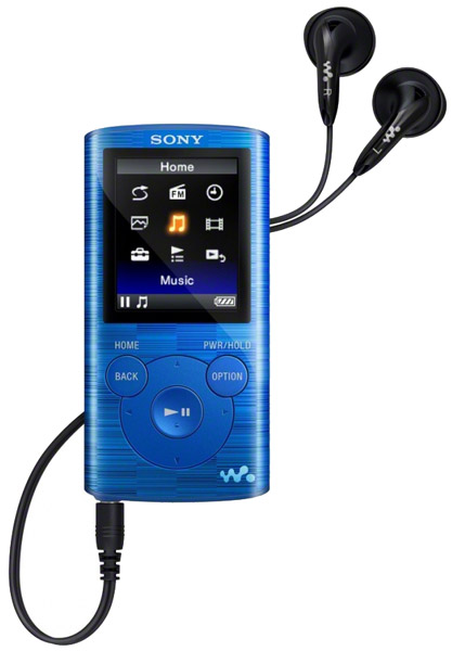 MP3 - плеер Sony NWZ-E383 4Gb blue