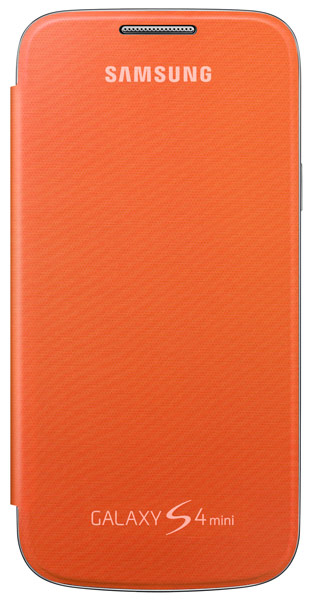 чехол Samsung FlipCover i9192 Galaxy S4 mini Duos orange