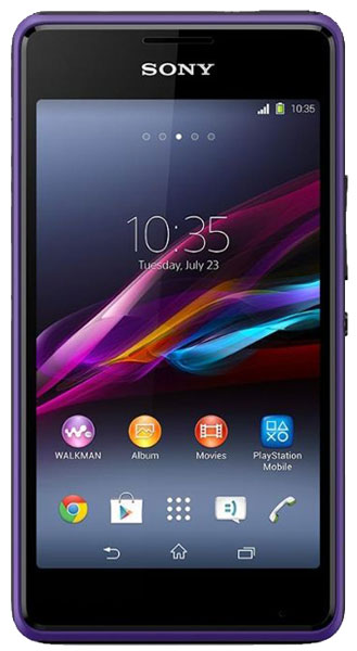 смартфон Sony D2105 Xperia E1 dual purple