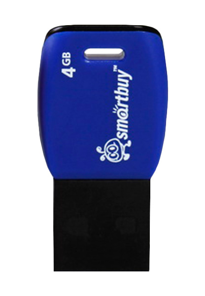 флешка USB SmartBuy Cobra 4Gb dark blue