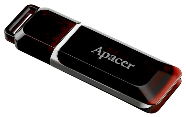 флешка USB Apacer AH321 32Gb red
