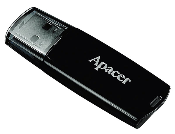 флешка USB Apacer AH322 16Gb black