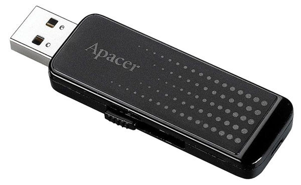 флешка USB Apacer AH323 16Gb black