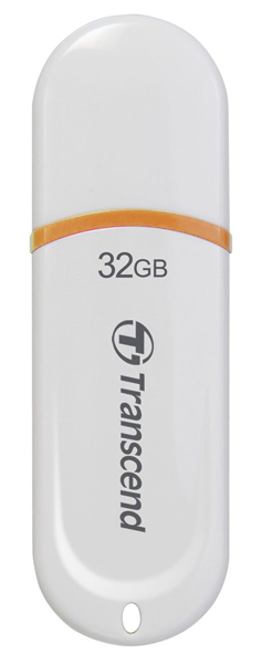 флешка USB Transcend TS32GJF330 32Gb white